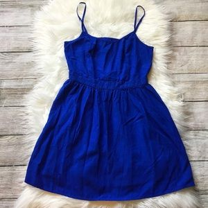 AEO Summer Dress Cobalt Blue American Eagle